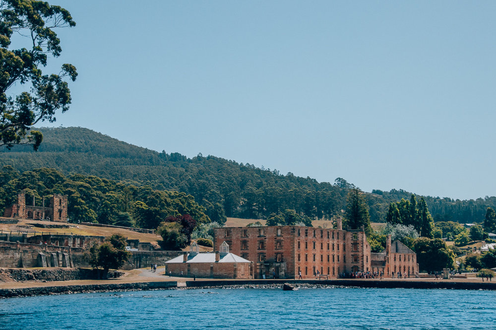 The open air museum of Port Arthur - a Tasmanian convict settlement from the 1800's