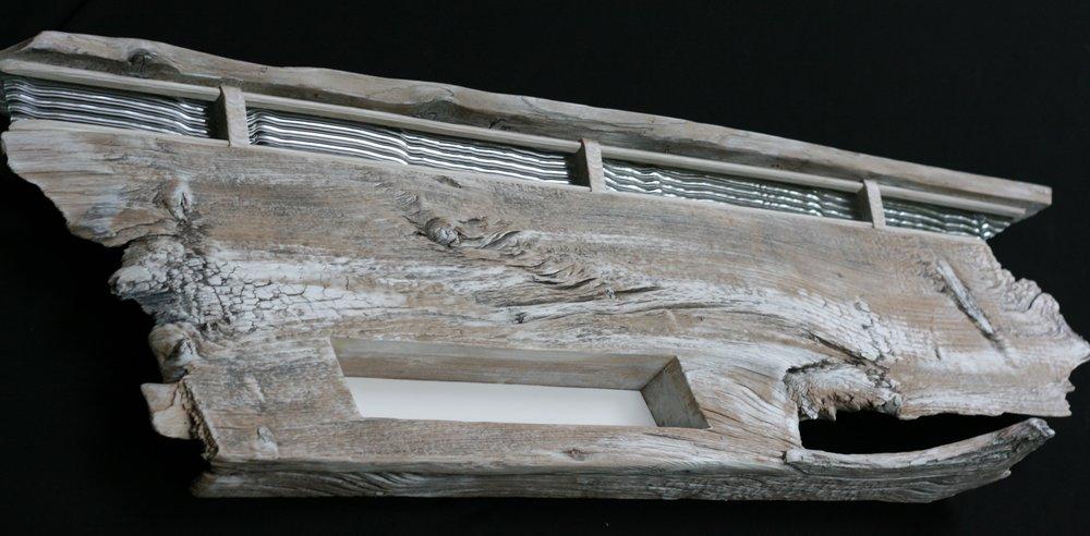 5 foot wall eco-sculpture