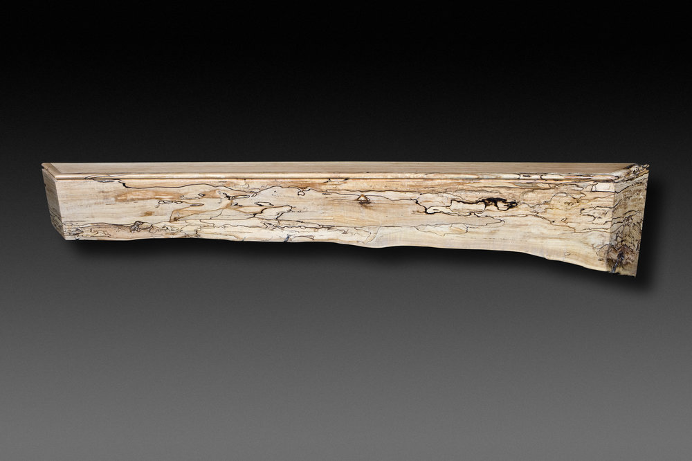 Spalted Maple Eco mantle