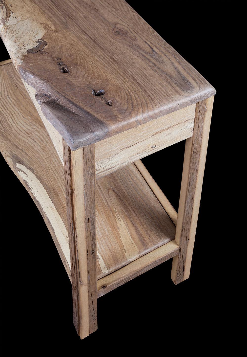 small eco console table