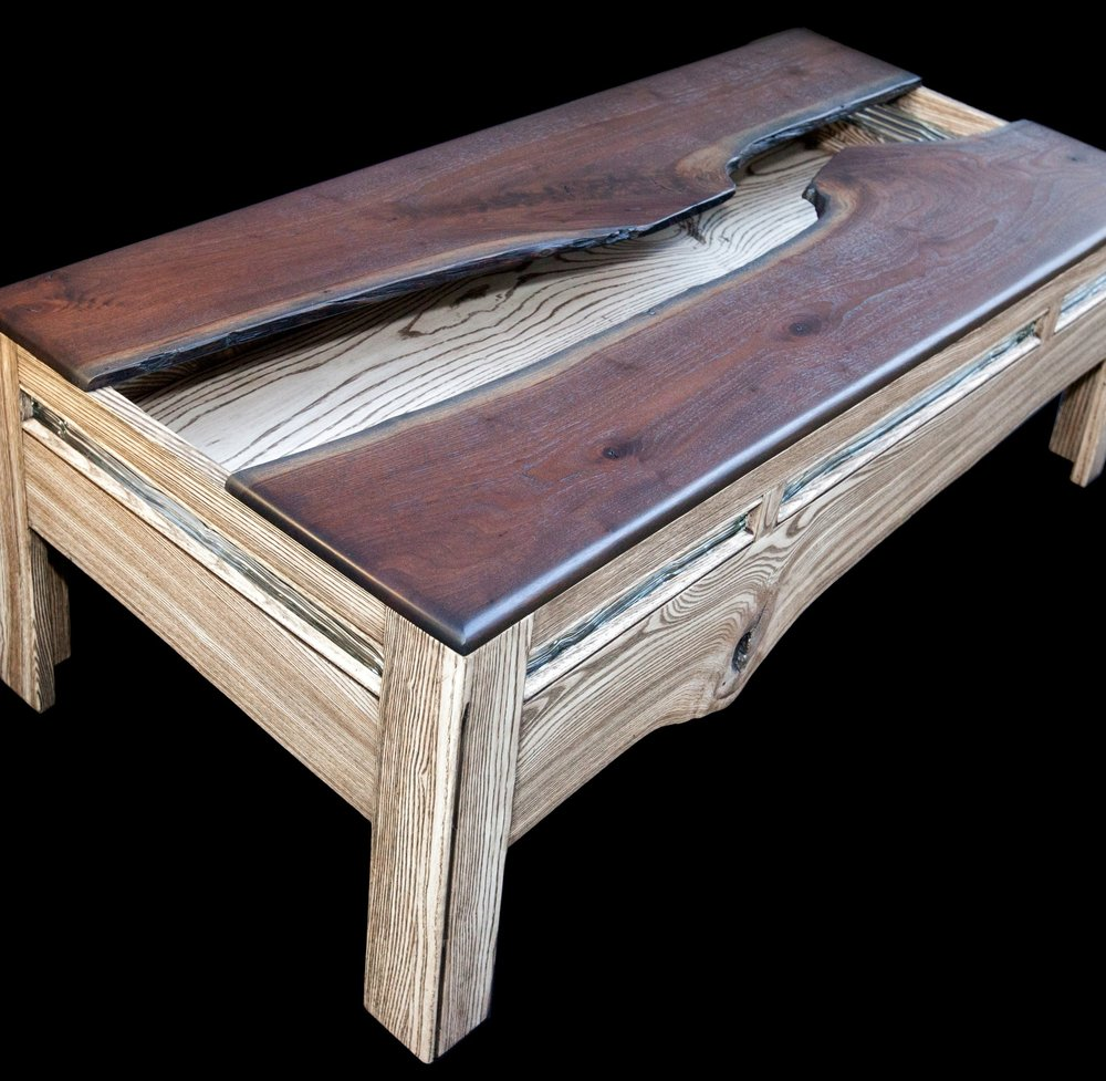 """""""Crack in Time"""" Eco Coffee Table"""