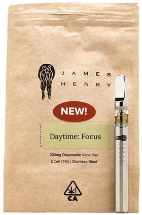 james-henry-daytime-focus-vape-pen