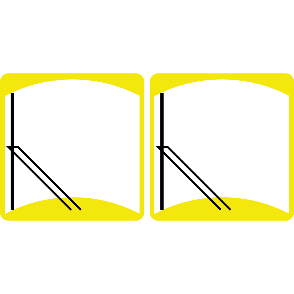 Four Pivot Pantograph with Split Glass