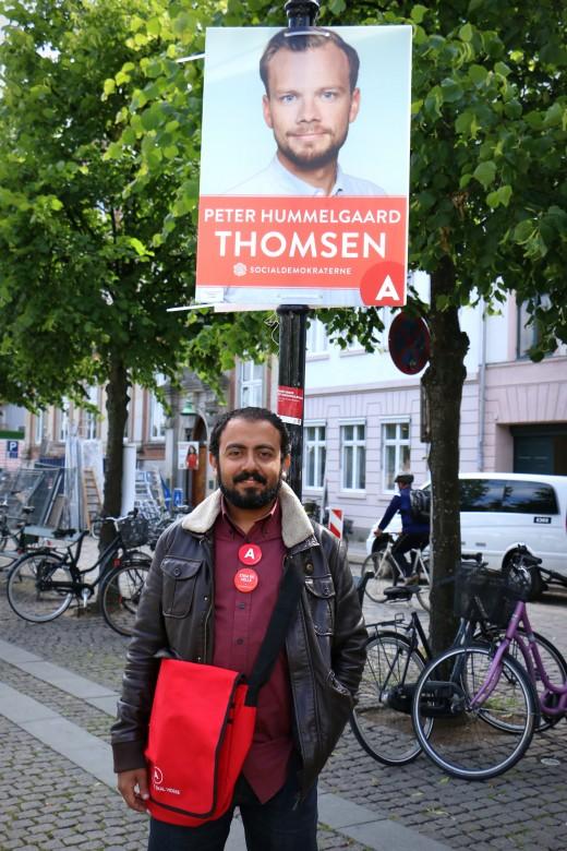 Tamer Sami, 40 år, filminstruktør og producent, medlem af det Egyptiske Socialdemokratiske Parti.
