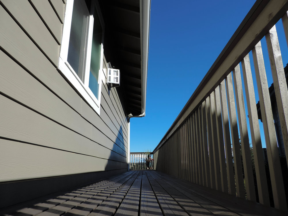 Handrails and decks are a welcome challenge to one of the best teams of painters in the Kitsap area.