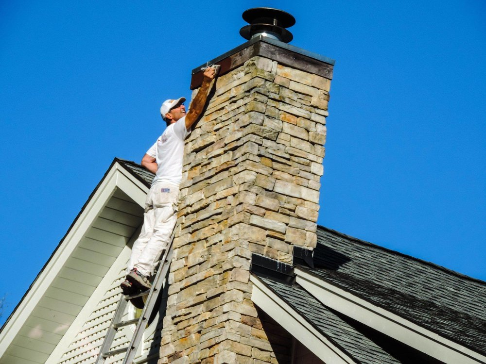 Chimney Trim Paint