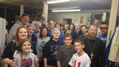 The Triune Staff and family volunteers at Reconciliation Services