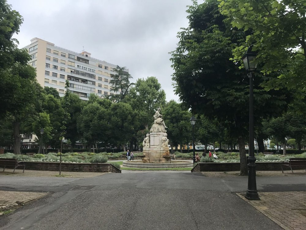 University of León park