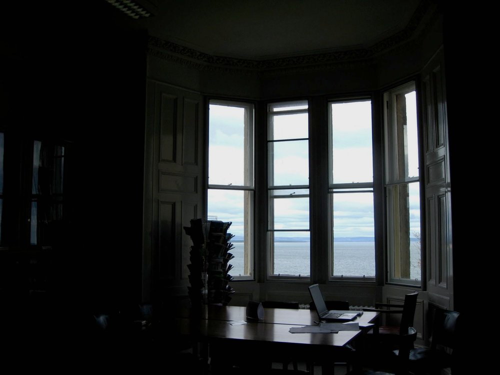 University of St Andrews, school of philosophy library (Photo credits: JTC)