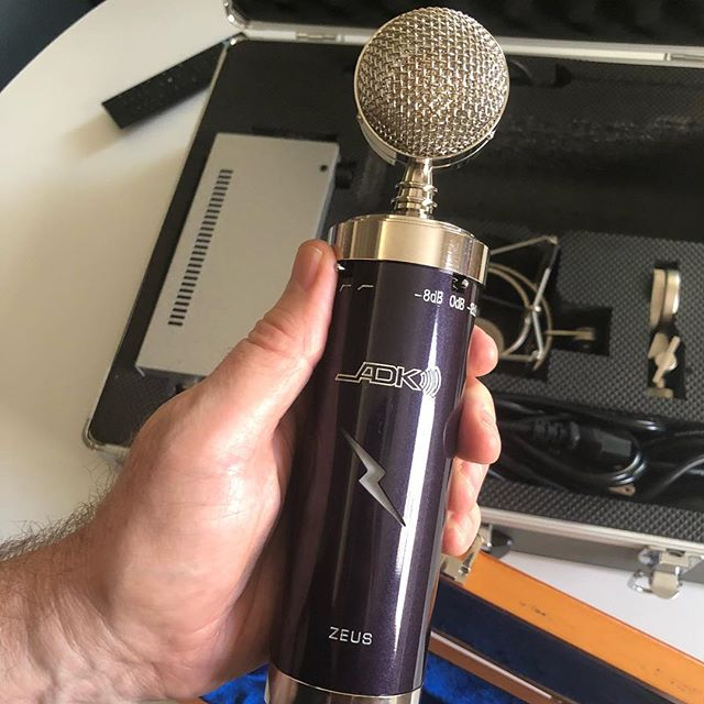 New at Jacksonland! The @adkmic Zeus 🎤