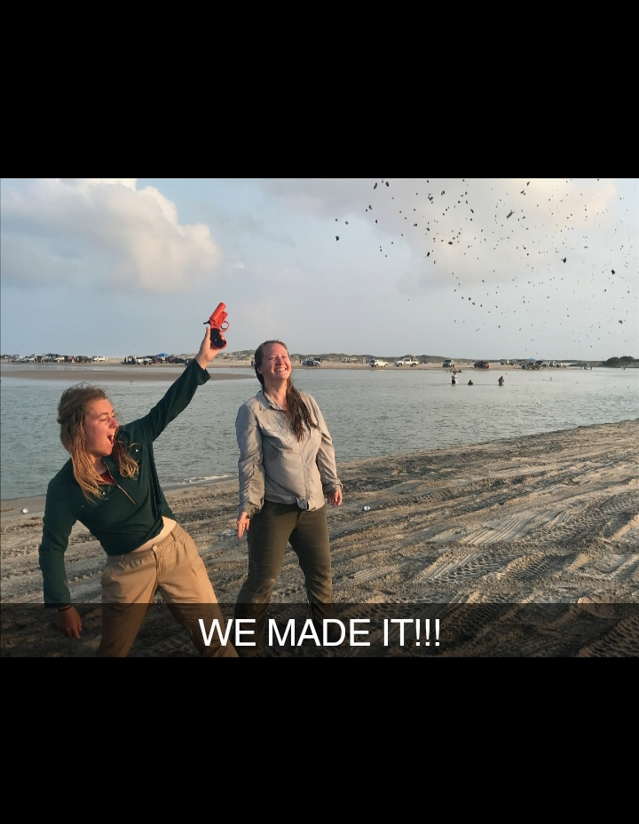 175 days on the border and we never had to use our flare gun. Only now, in our need to celebrate, did we pull it out!