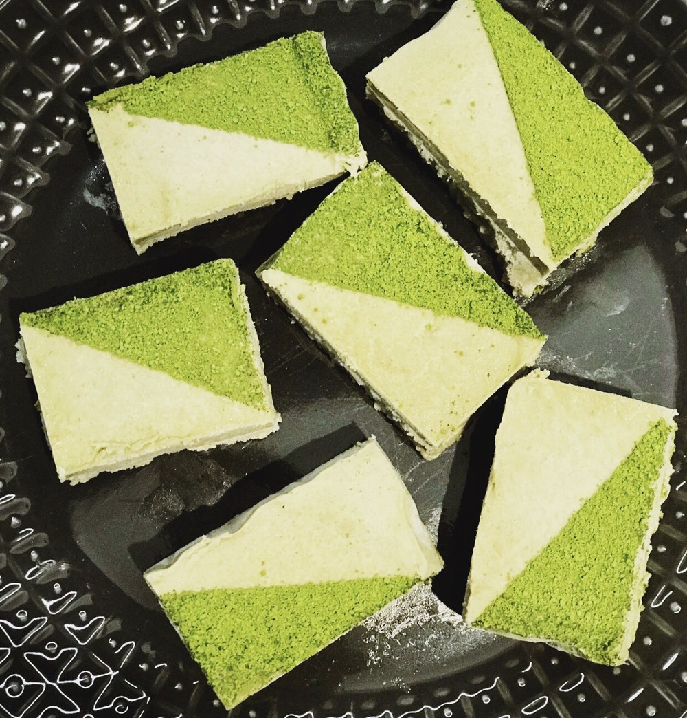 Mint Matcha Slice