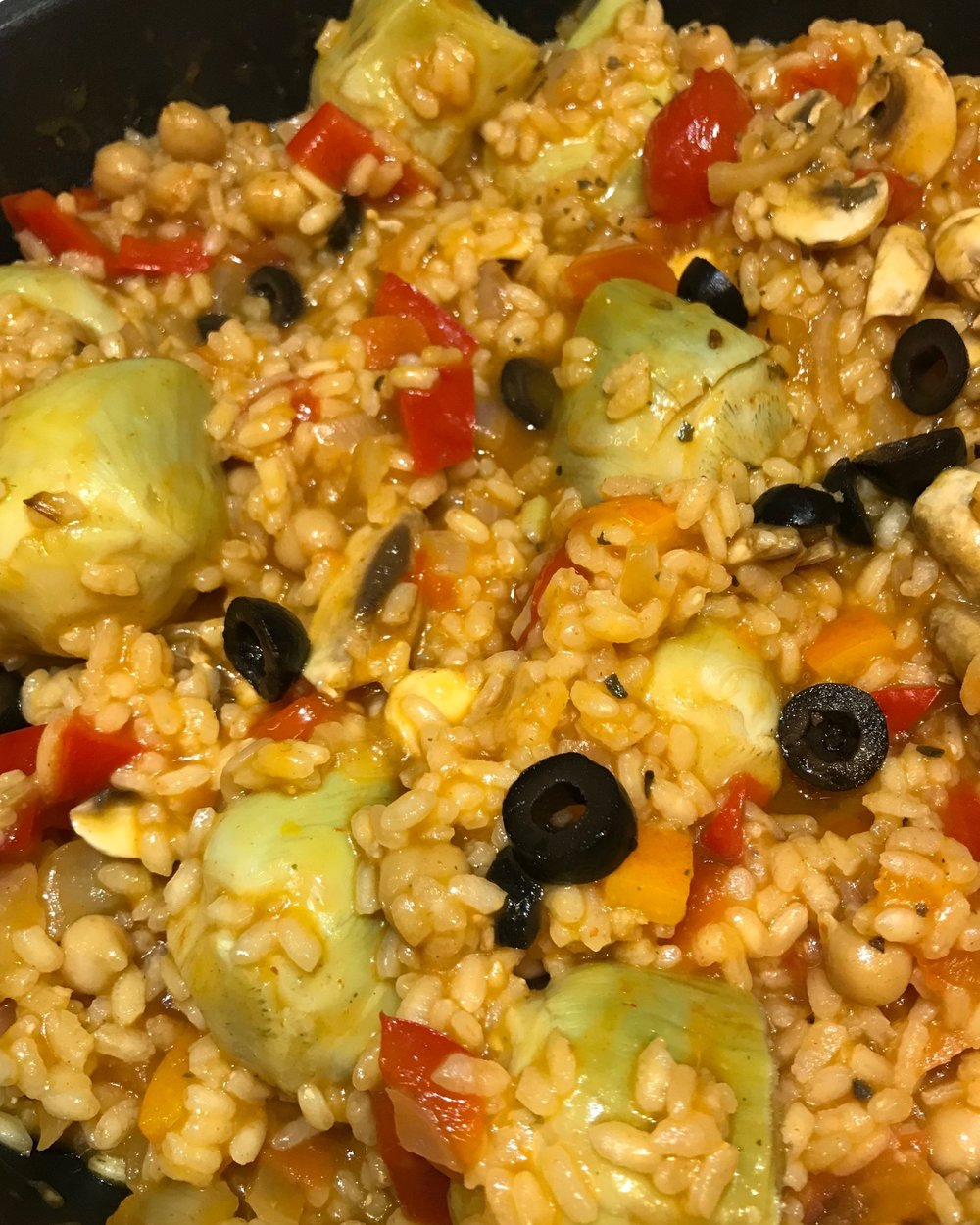 - A staple everyday recipe for home cooked paella, plant-based style.