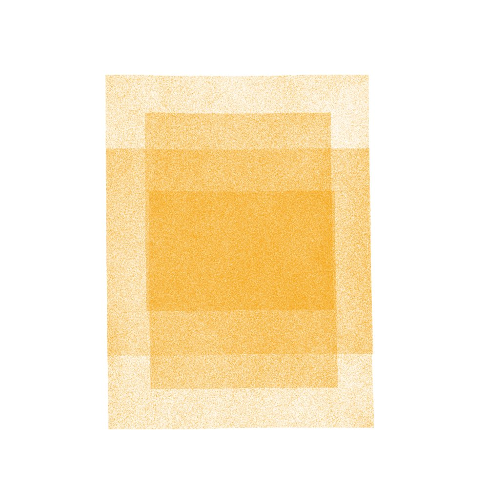 Golden Rectangles in Rectangles: Soft Geometry