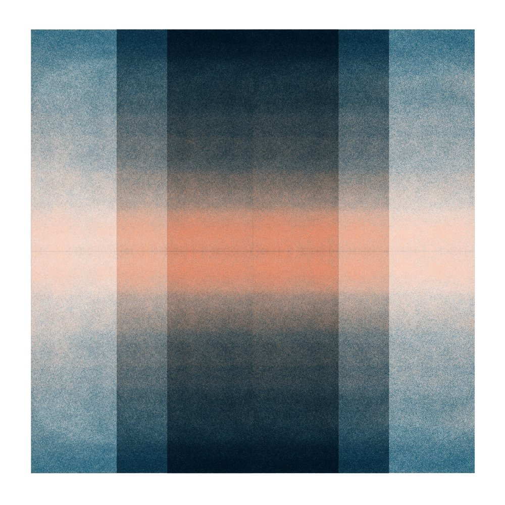 Color Space Series: Blush Pink & Midnight Blue