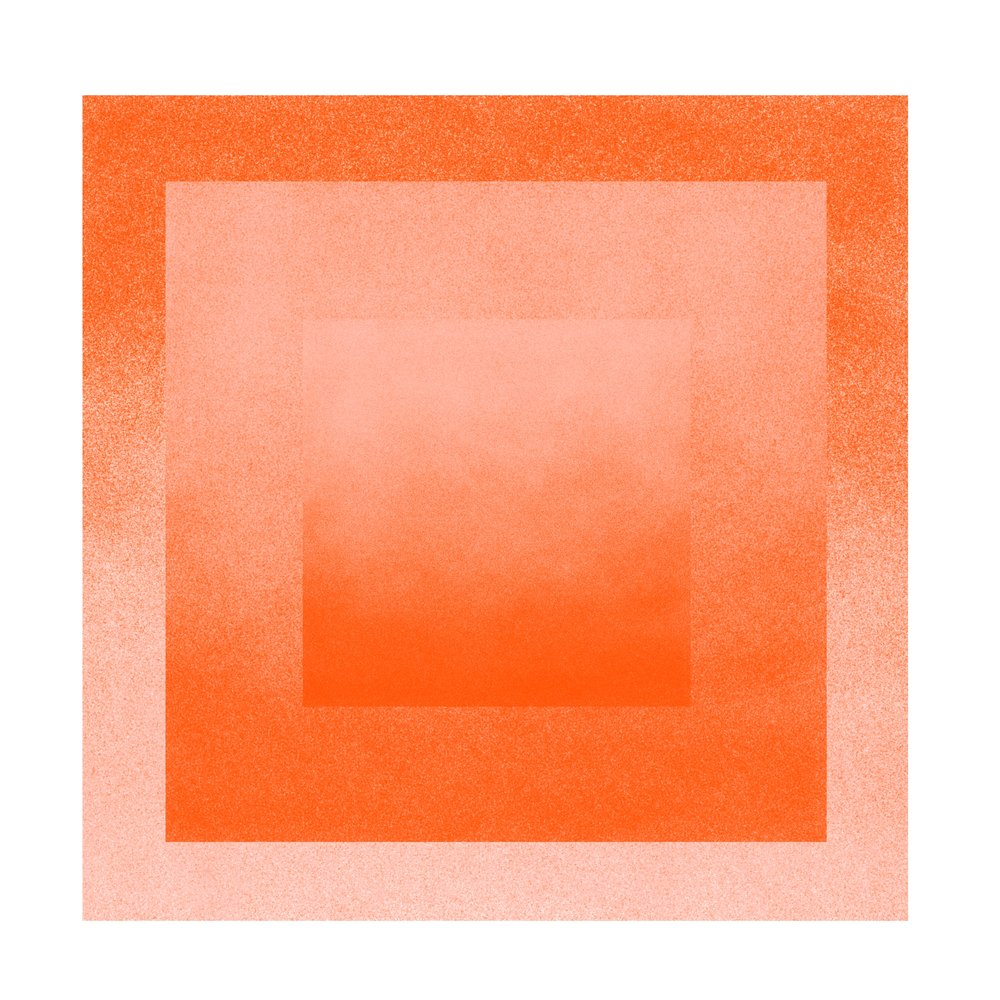 Color Space 6: Peach & Tigerlily