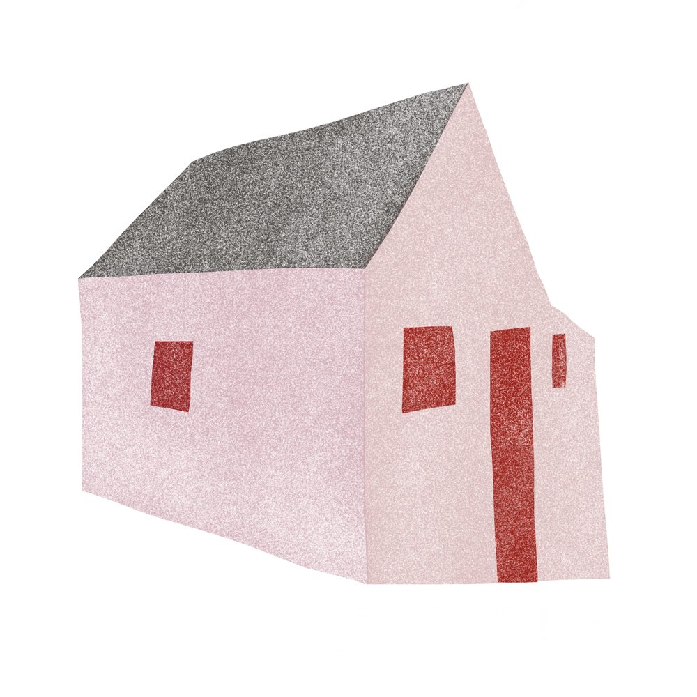 Pink & Red Cottage