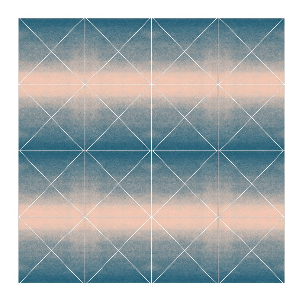 Color Space 14: Midnight Blue to Blush Pink