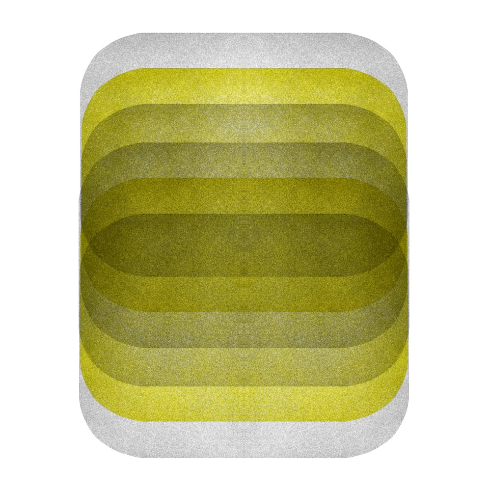 Color Space 26: Acid Yellow & Gray