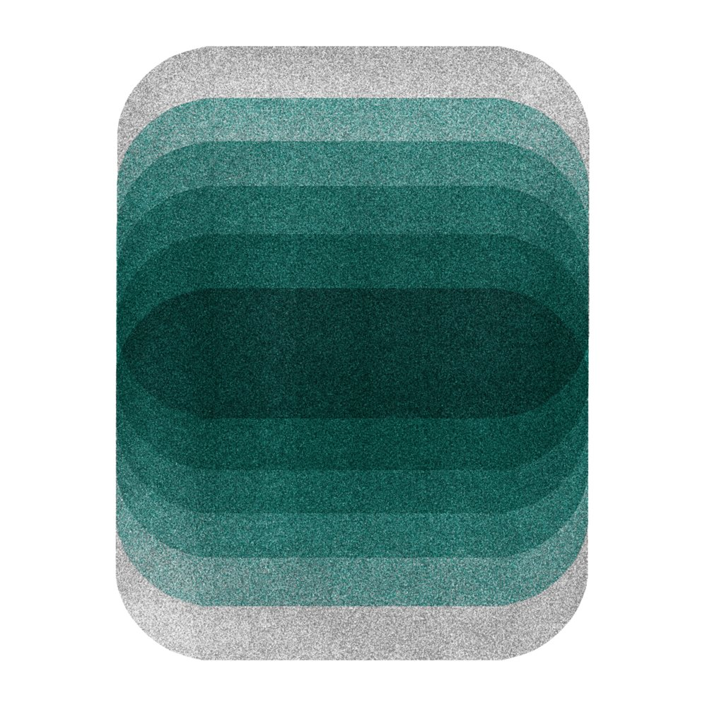 Color Space 26: Teal & Soft Gray