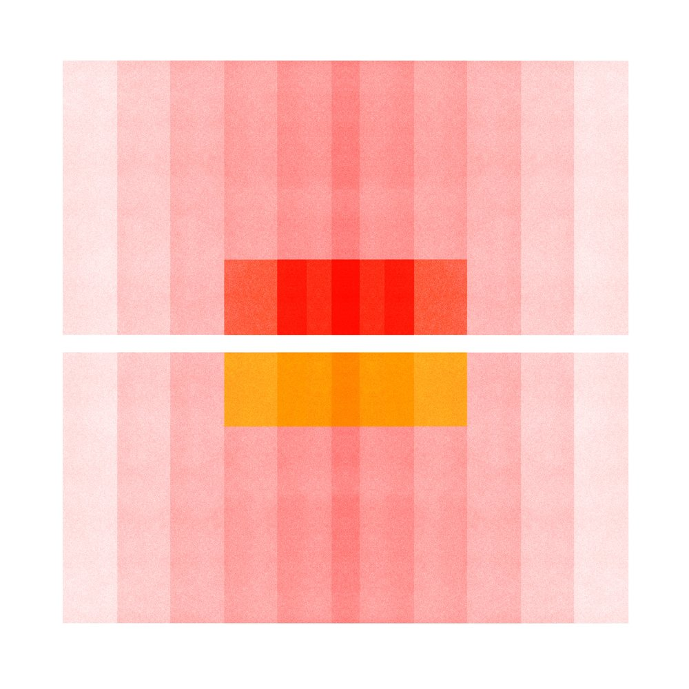 Color Space 27: Pink, Red, Yellow