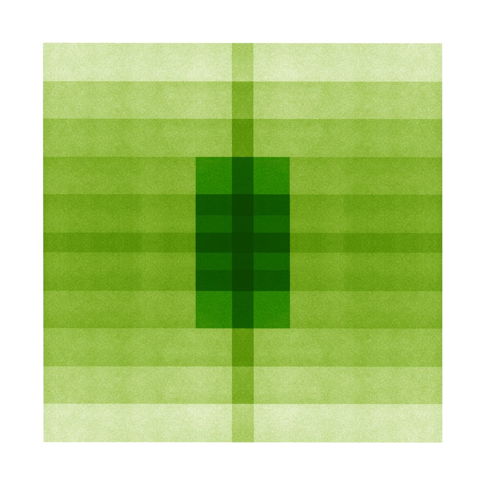 Color Space Series 29: Grass Green