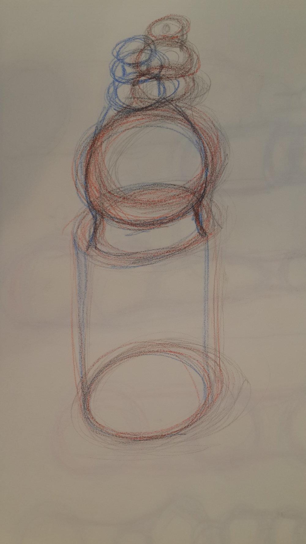 // Sketch of a water bottle