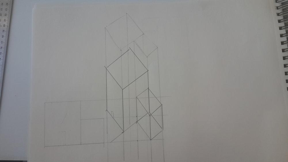 Axonometric Sketching