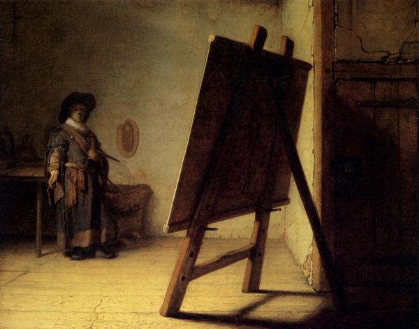 Rembrant Self-portrait