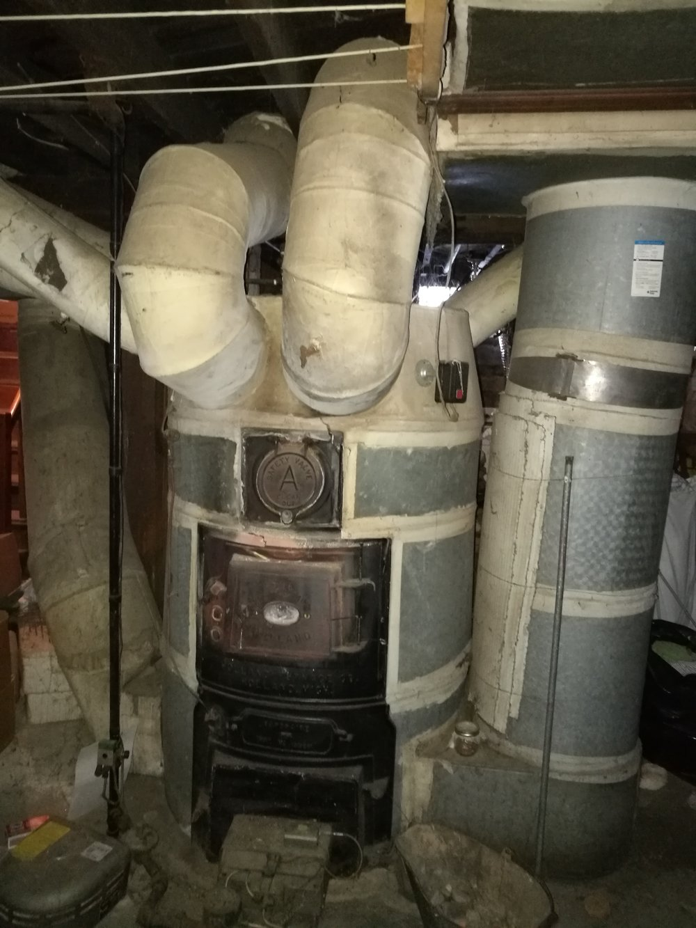 Arla's old gravity furnace