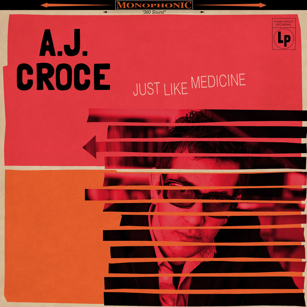A.J. Croce - Just Like Medicine - Produced by Dan PennFeaturing Steve Cropper, Vince Gill,David Hood, Colin Linden, BryanOwings, The McCray Sisters, andThe Muscle Shoals HornsAugust 11th, 2017 Compass Records: http://www.compassrecords.com