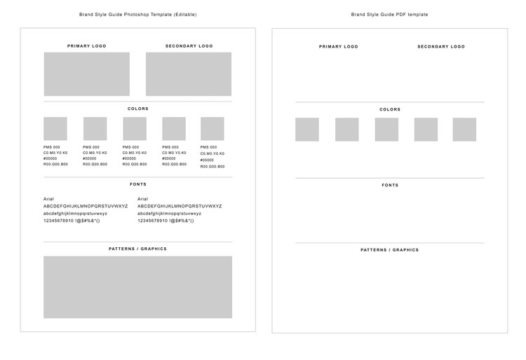 How To Create A Simple Brand Style Guide WHITE BOX DESIGN STUDIO - Brand style guide template