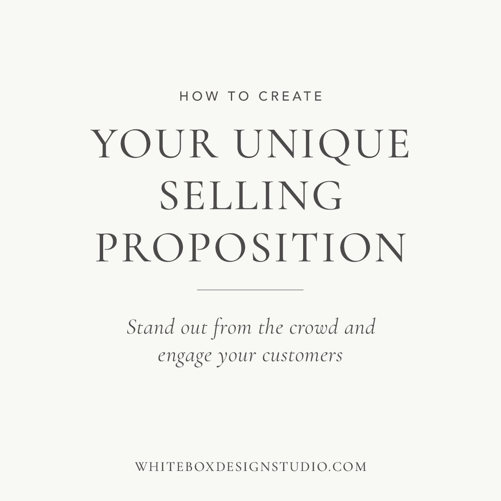 How to create your unique selling proposition- White Box Design Studio