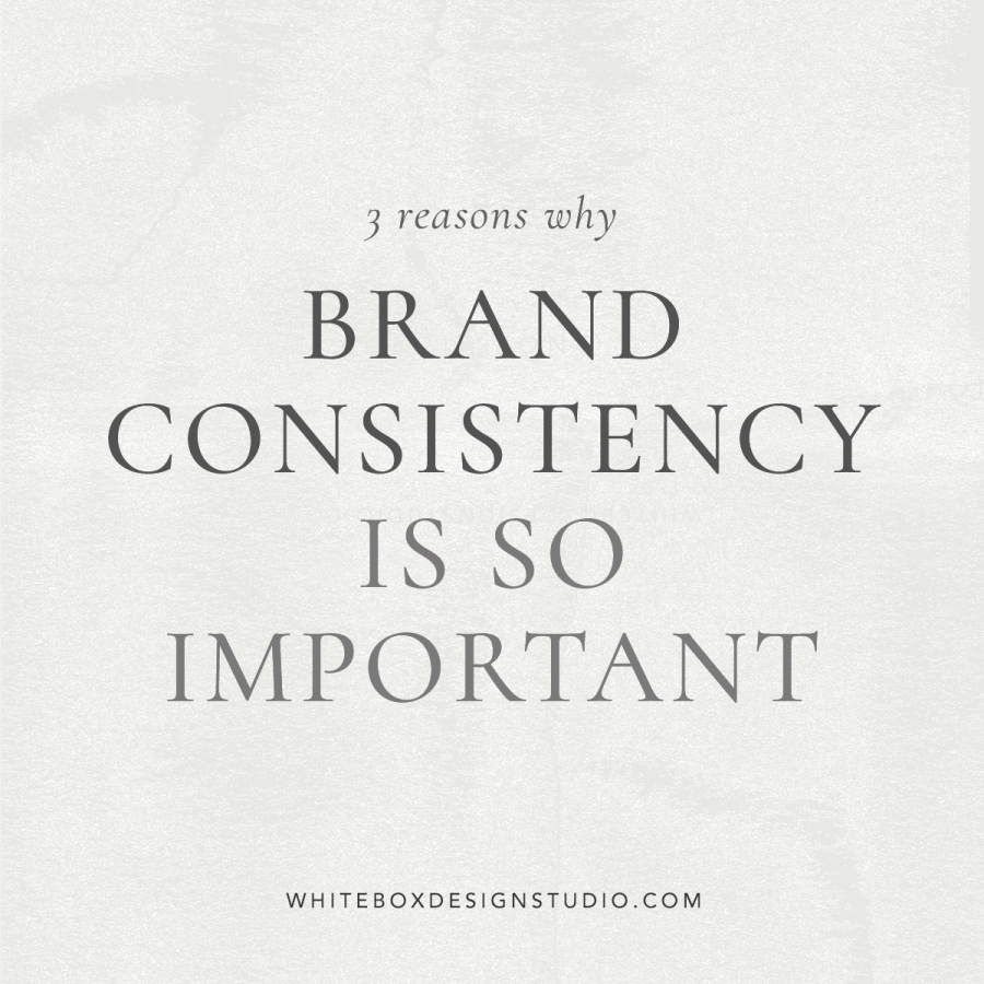 Blog article - Brand Consistency is so important by White Box Design Studio