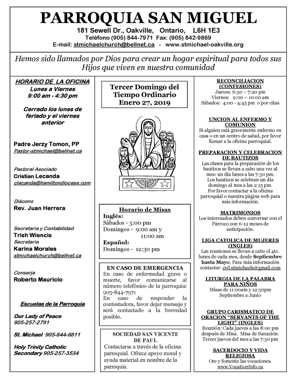 Spanish Bulletin - 3rd Sunday in Ordinary Time, January 27, 2019_Page_1.jpg