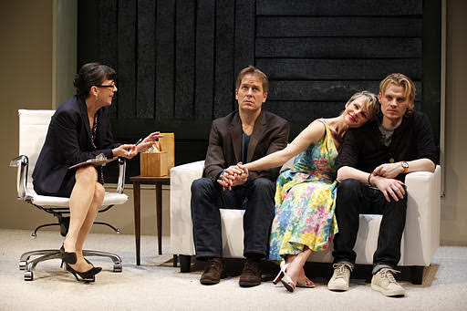 Cherry Lane Theatre - OFF BROADWAY | April 8 - May 26, 2012 | January 12 - February 26, 2012 | Director: Michael Bush | Angelica Page/Gabrielle Miller - Lily | Jan Leslie Harding - Nancy Winston | Laurence Lau - Philip | Jeffrey Carlson/Alexander Cendese - Dorian
