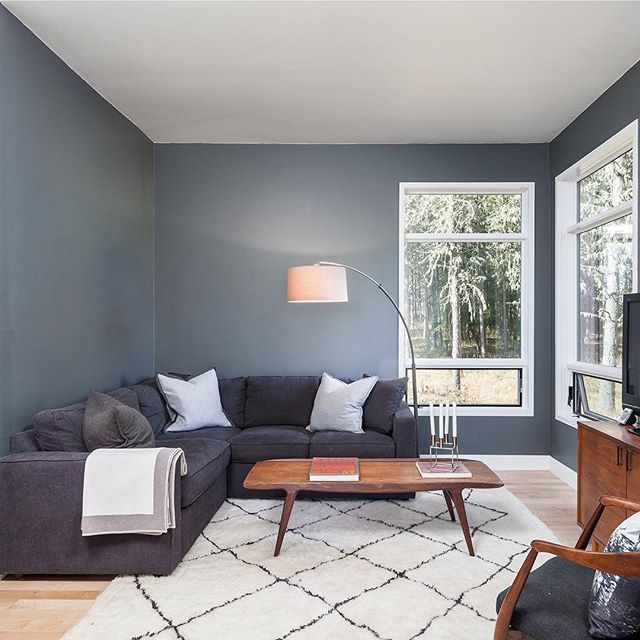 A living space by @jordan_iverson and his team in Eugene, OR. #swcolorlove