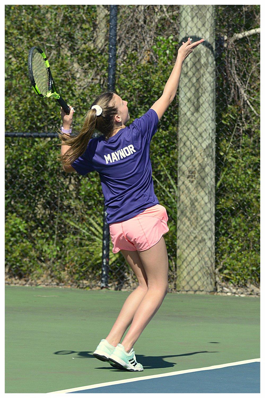 Laurel Maynor Junior Tennis Player