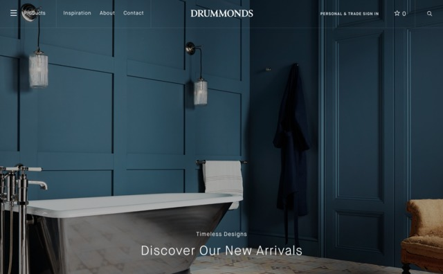 drummonds uk - Classic products for luxury bathrooms