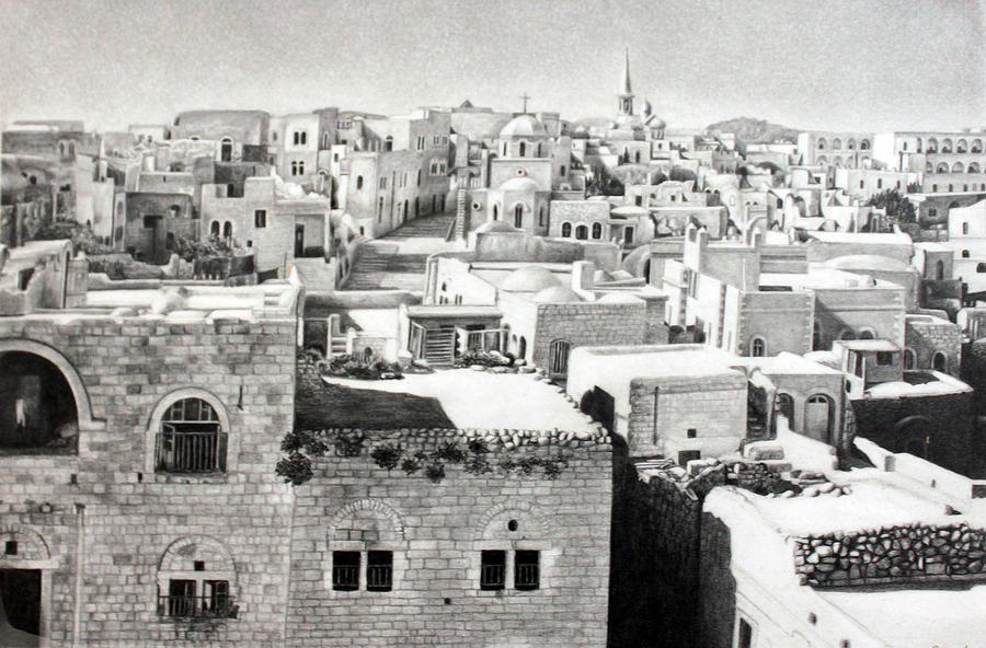 Bethlehem Old Town by Munir Alawi | Fine Art America