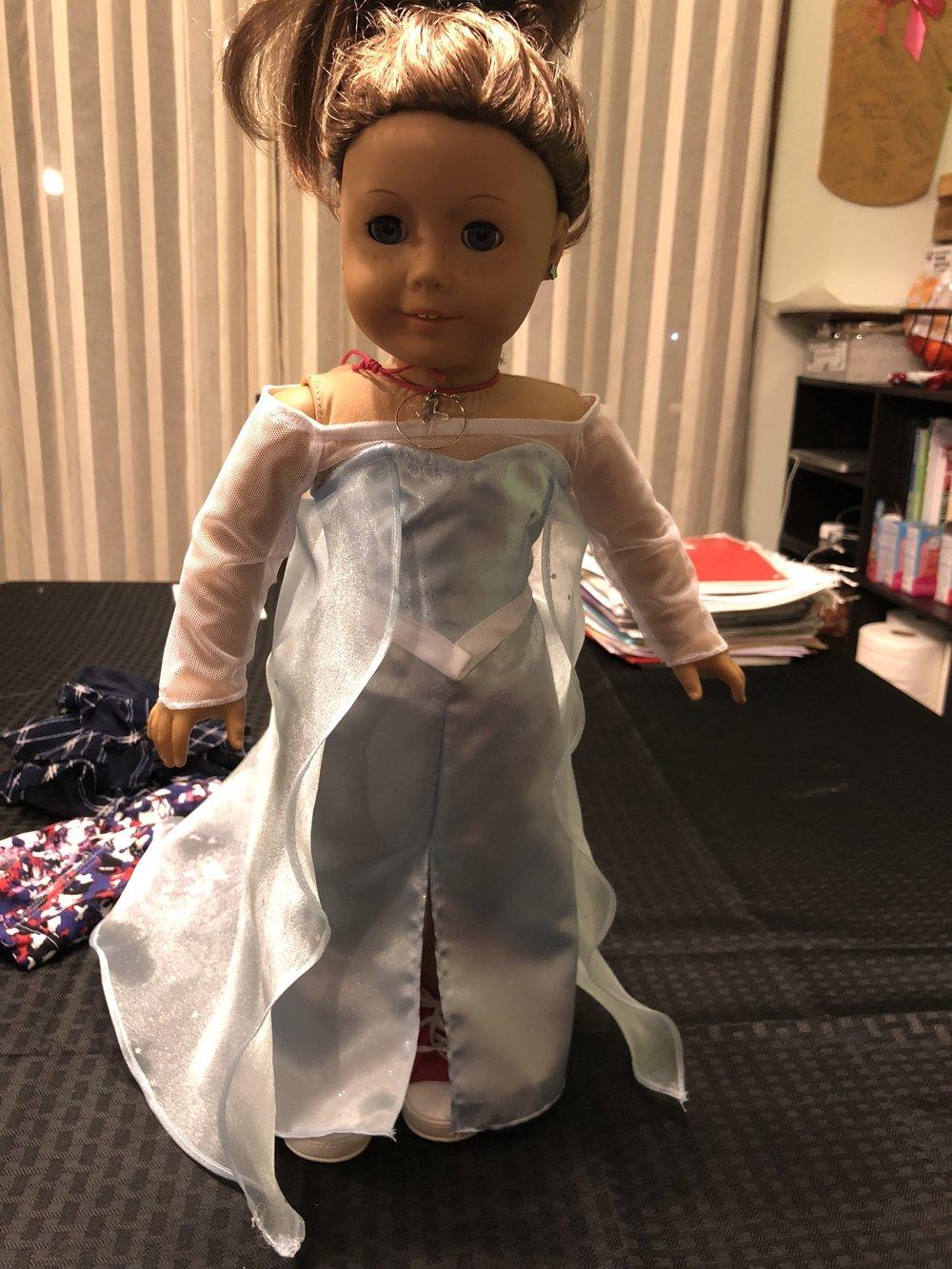 American Girl Elsa Dress