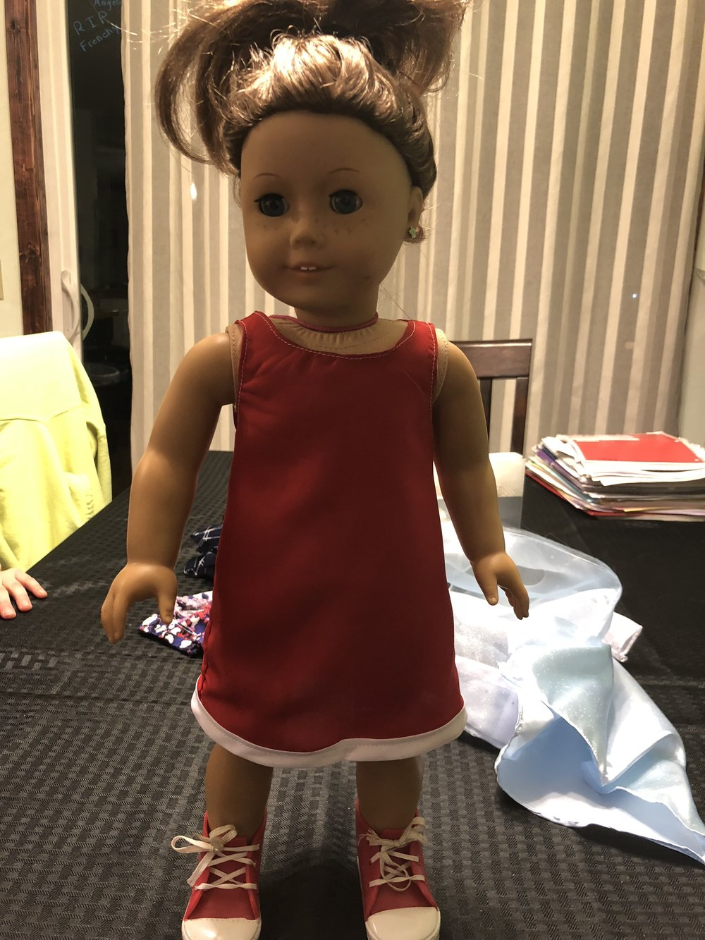 American Girl Shift Dress