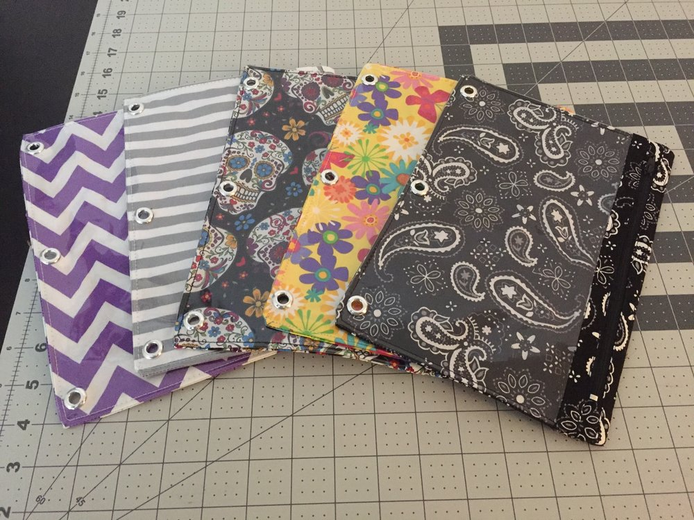 Binder Pencil Pouches
