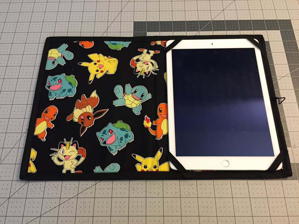 Pokemon iPad Holder