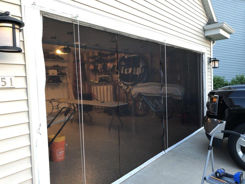 Garage Door Bug Screen