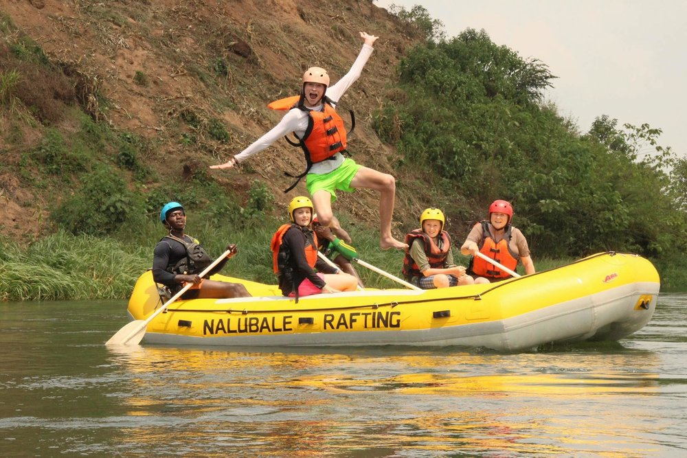 The best way to see the Nile with the whole family! - NEW for 2018/2019 season!! A benefit to our new Whitewater trip route is we can now offer you an incredible whitewater float trip - departing everyday and a minimum age of 6 years.Price $45