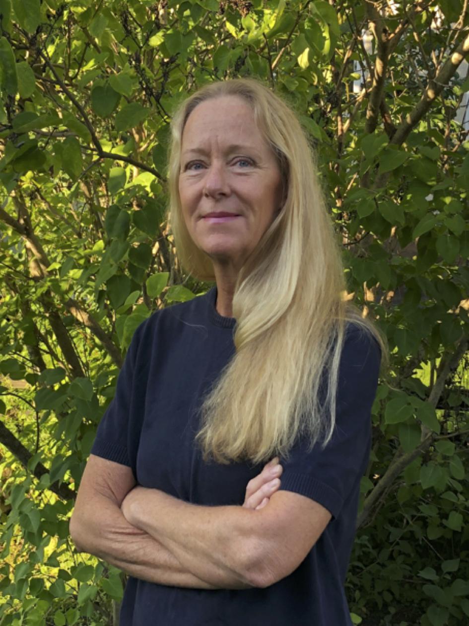 Eva Timm Bergling, leg. psykoterapeut med KBT-inriktning samt socionom.