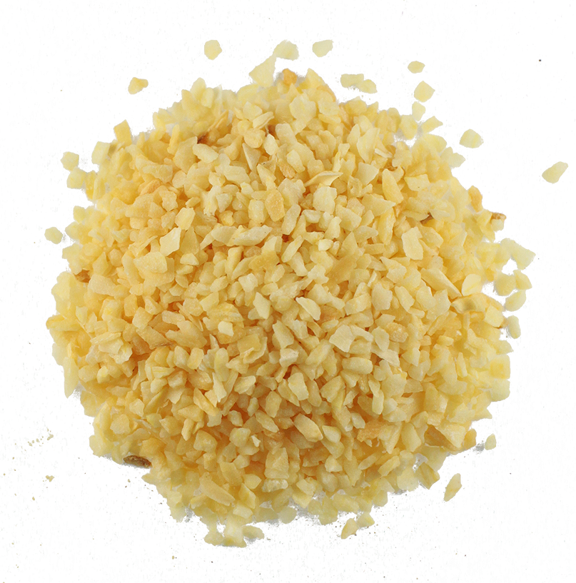 Fresh minced garlic of highest quality, taste and flavor packed in custom-made and bespoke packaging for our clients