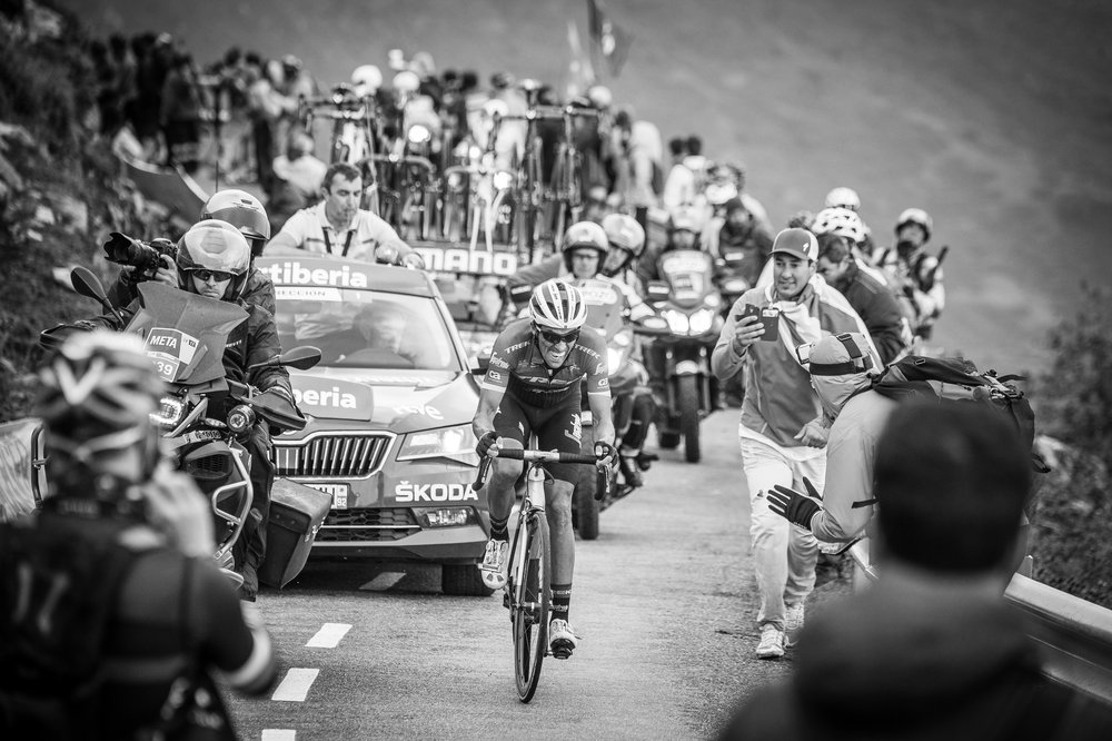Alberto Contador - Alto de l'Angliru