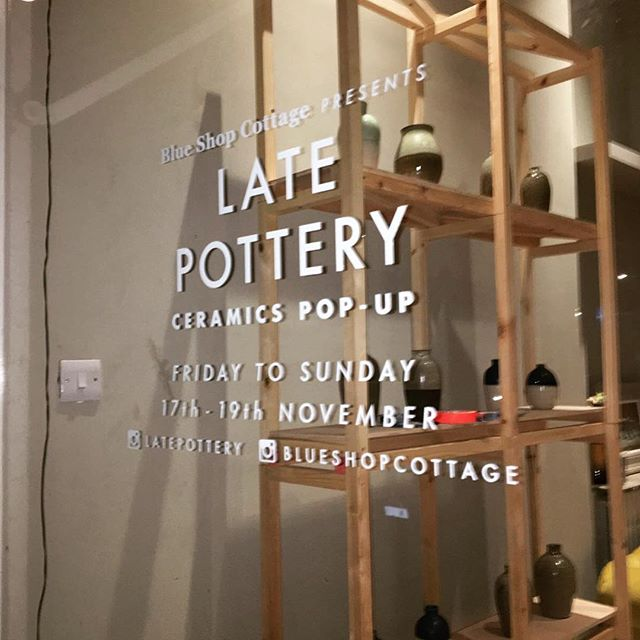Excited for the pop-up this weekend @blueshopcottage  #popupshop #ceramics #pottery #shopping #christmasgifts #handmade #wheelthrown #weekend #gifts #peckham #eastdulwich #camberwell #blueshopcottage #instapottery #vinyl #vase #twotone #bowl #comeandsayhi
